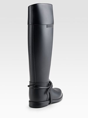 GIVENCHY - Tall Rubber Rainboots - 202