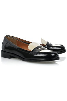 MARC BY MARC JACOBS - Two-tone patent-leather loafers - 275