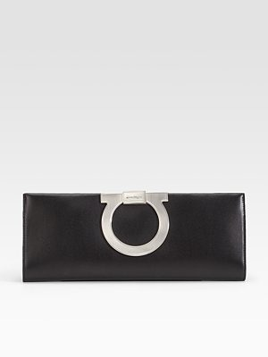 salvatore ferragamo - Evening Nappa Clutch - 730