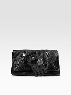 Alexander Mcqueen - Faithful Leather Glove Clutch - 689