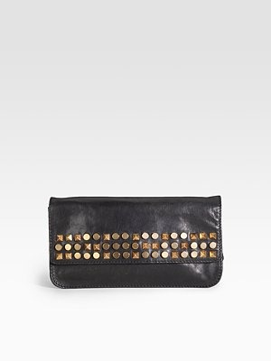 Tory Burch - Linden Leather Clutch - 283