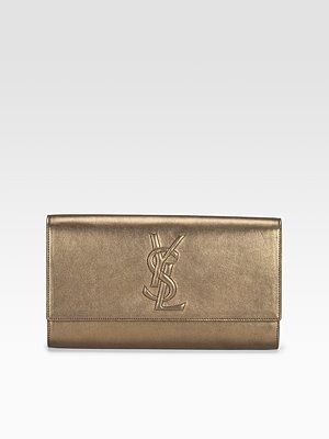Yves Saint Laurent - Belle de Jour Silk Clutch - 425