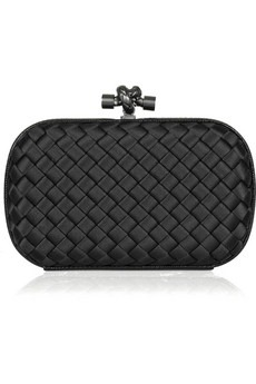 Bottega Veneta - Satin knot clutch - 800