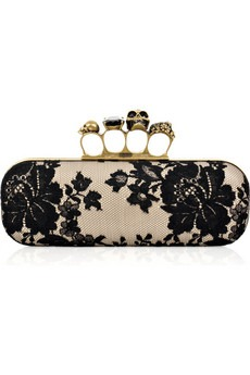 Alexander Mcqueen - Knuckle Duster box clutch - 1340