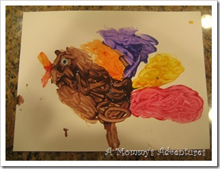 Q-Tip Painting Turkey