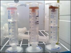 Figure 6 - Ice Penetration Test Solution A, B, E