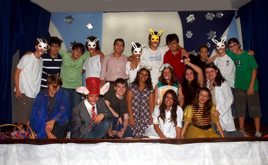 Apresentação na Escola 2010 – Unidade 1