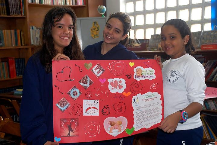 Valentine's Day 2010 – Trabalho de Inglês – Unidade 1