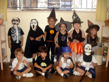 Festa de Halloween 2009 – Unidade 2 Educação Infantil