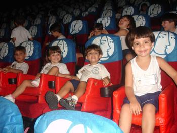Cinema 2009 – Unidade 2 Educação Infantil