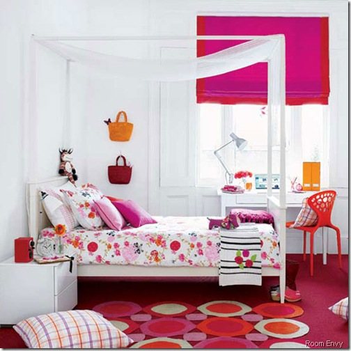 hot pink room envy