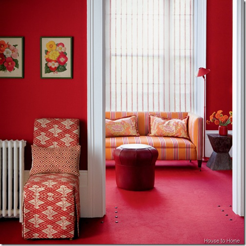 red-living-room house to home