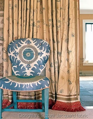 [Donghia's Suzani Jacquard fabric in Blue Bliss - Jeffery Bilhuber[6].jpg]
