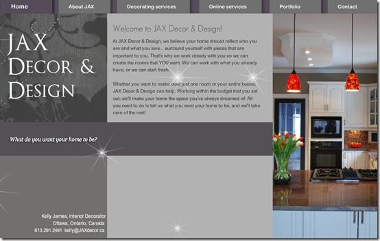 JAX web site
