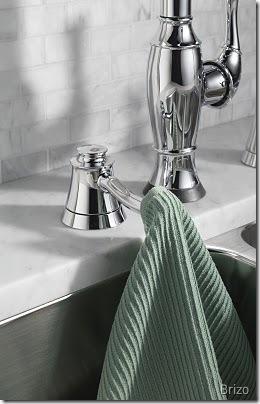 Brizo - Dish Cloth Hook in Chrome