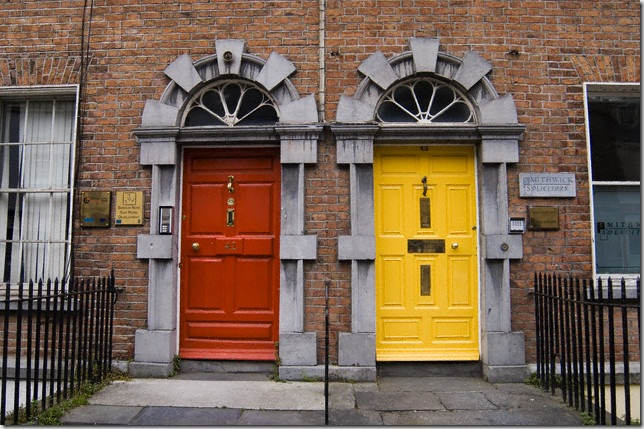 corbis colored doors kilkenny
