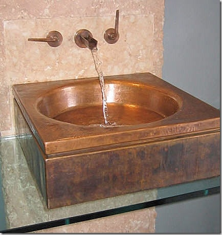 copper sink archie expo