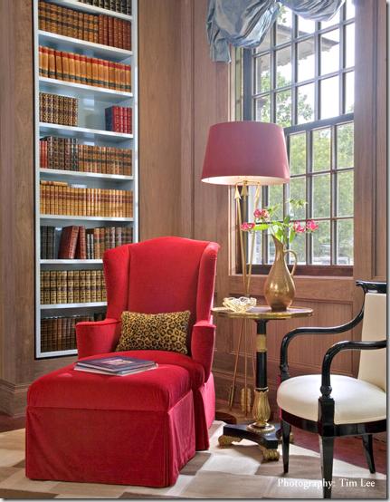 Jamie Drake Merrywoods library