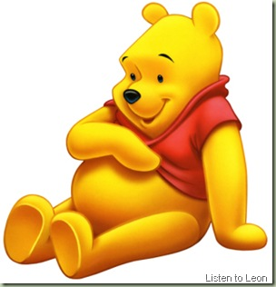 winnie-the-pooh listen to leon