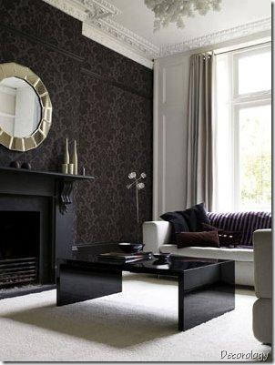 black_living_room decorology