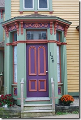 door purple