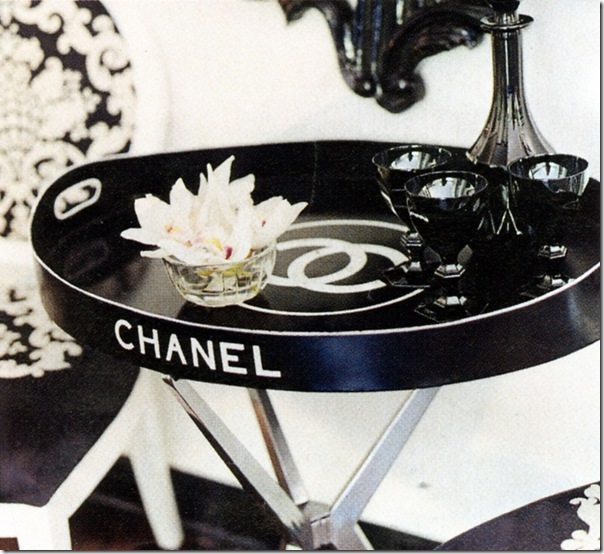 chanel tray so haute