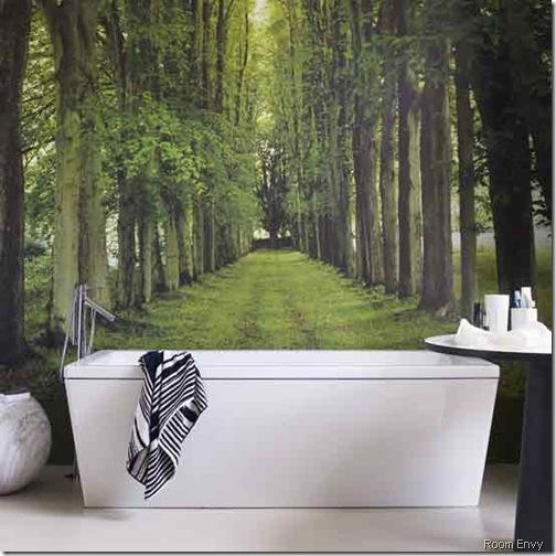bath woodland room envy