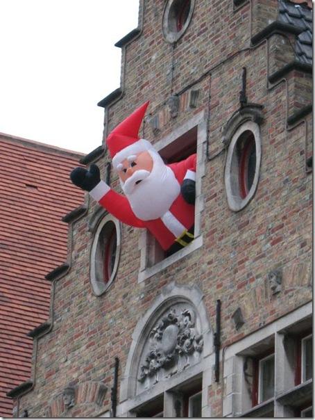 inflated santa