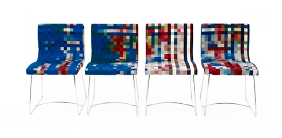 pixel chairs