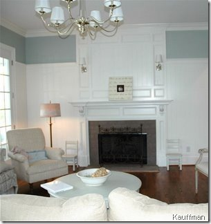 fireplace wainscoting kauffman