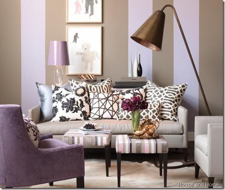 purple chair HandH