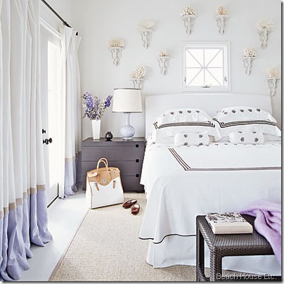 beachy-bedrooms-purple-accents beach house etc