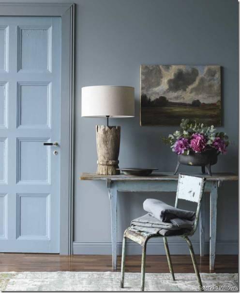 vaggfarg-petroleum-stol-bordslampa splendid willow