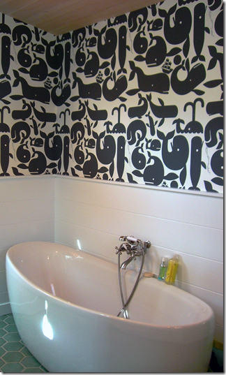 whale wallpaper pottok prints install
