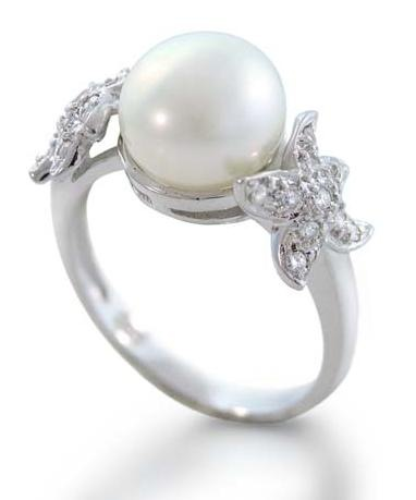 sterling-silver-pearl-ring-starfish overstock jeweler