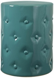 turquoise ceramic drum stool lampsplus