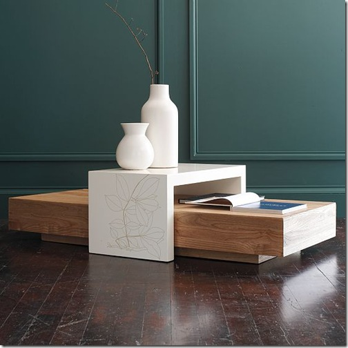 bridge coffee table west elm