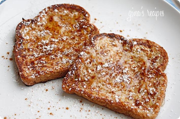 eggnog toast
