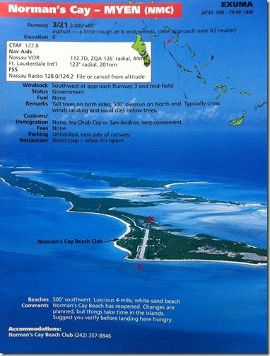 Norman's Cay - Bahamas Guide