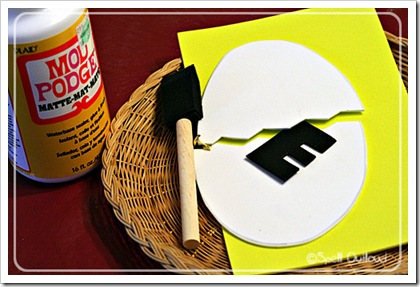 Craft Ideas Letter on Egg Template Cut Out Of Cardstock Or Craft Foam