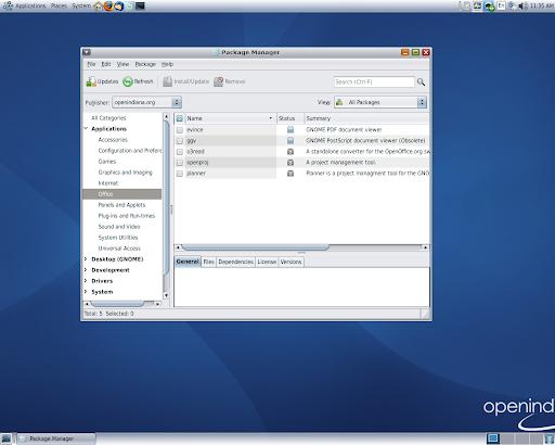 dev OpenIndiana-146 - la búsqueda de paquetes (La imagen a tamaño completo: 717kb resolución, 1280x1024 píxeles)