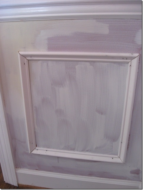 Picture Frame Moulding On Walls how to install picture frame molding - southern hospitality