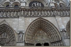 Notre Dame de Paris vue du point zéro