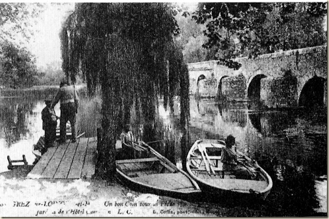 Grez et le vieux pont