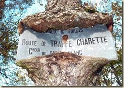 route de Trappe charette
