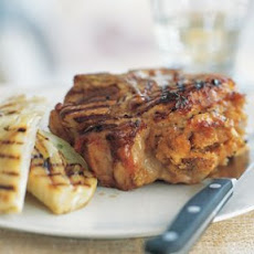 Pork Chops with Apple-Sage Stuffing