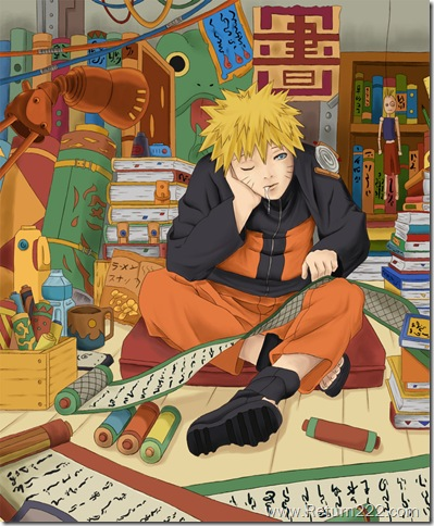 Naruto____studying__by_Ashley425