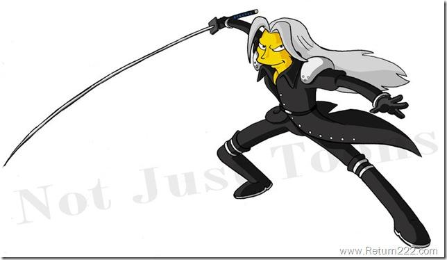 Sephiroth_Simpson_by_Morpheus306