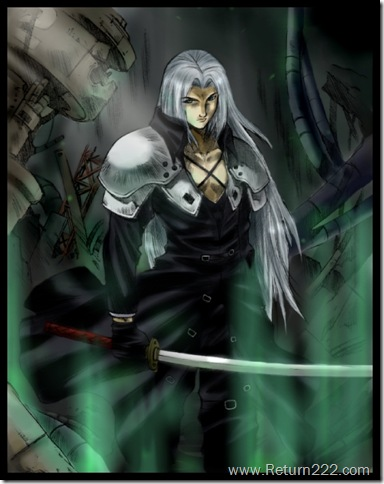 __Sephiroth_____colored