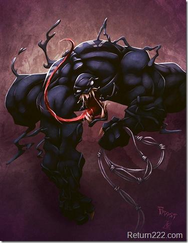 Venom_Commish_by_JoshawaFrost